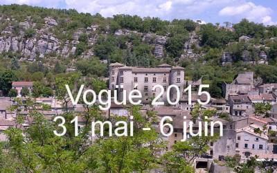 Séjour 2015 à Vogüé vu par les CC2