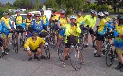 Tour du lac d'Annecy pour les VPT et CC2